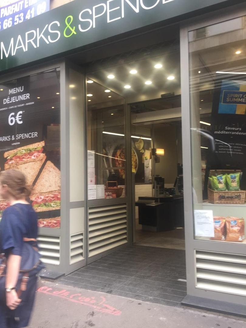 Photo du 6 juin 2017 14:04, Marks & Spencer Food, 48 Rue de la Chaussée d'Antin, 75009 Paris, France