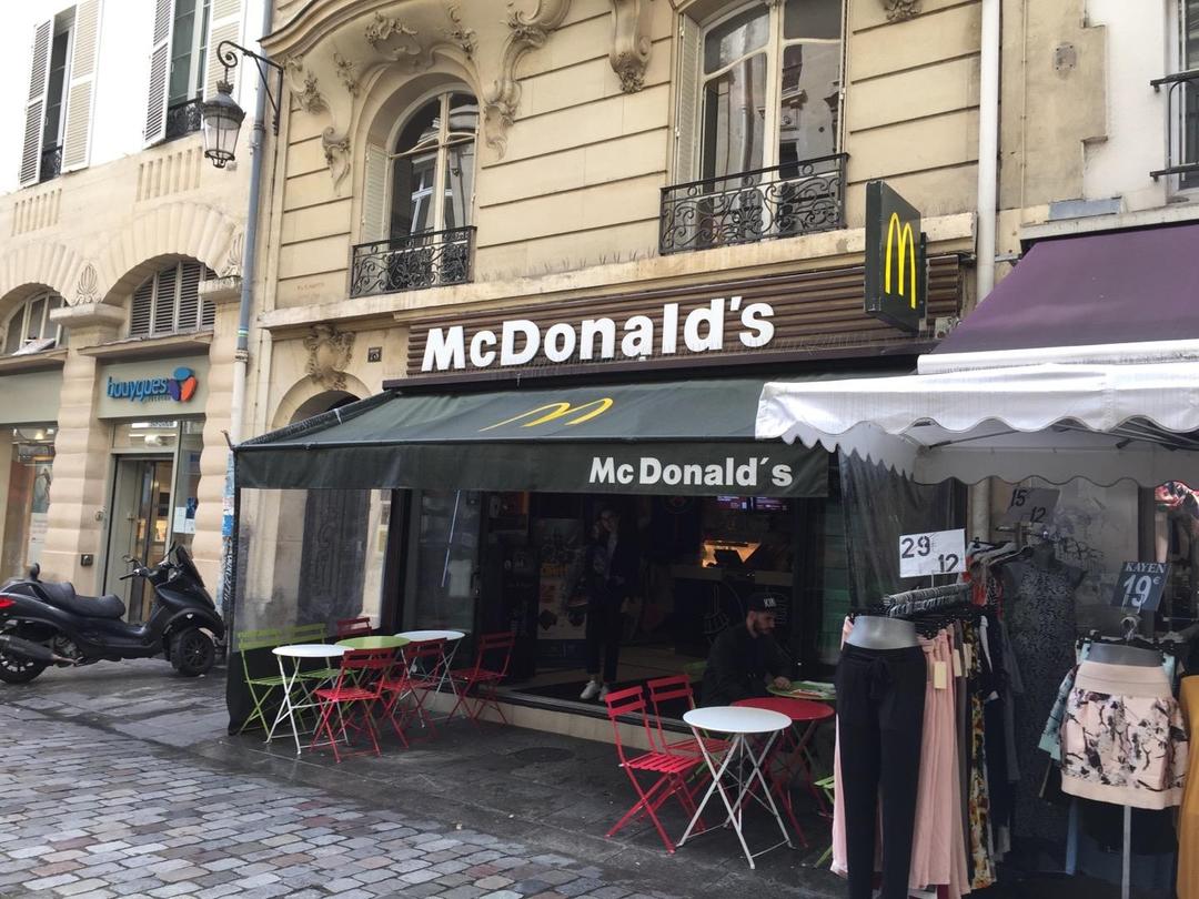 Foto del 6 de junio de 2017 14:07, McDonald's, 73 Rue de Caumartin, 75009 Paris, Francia