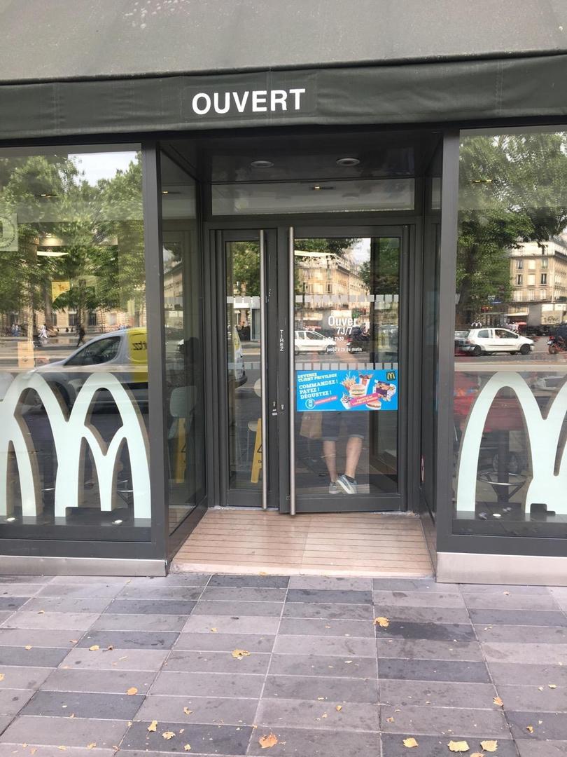 Photo du 22 juin 2017 13:59, McDonald's, 19 Place de la République, 75003 Paris, France