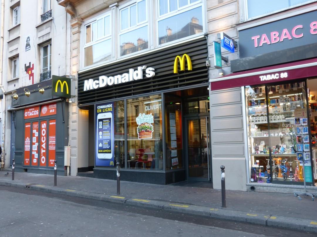 Foto vom 14. November 2017 21:04, McDonald's, 88 bis Avenue Parmentier, 75011 Paris, Frankreich