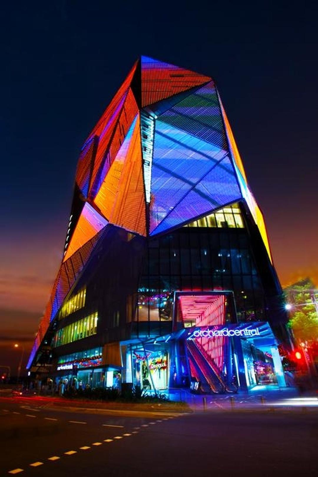 Centro comercial - Orchard Central , Singapore