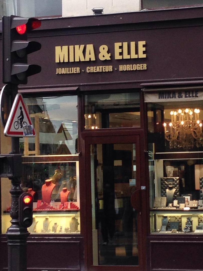 Photo of the June 6, 2017 2:20 PM, Mika & elle, Rue d'Antin, Paris, France