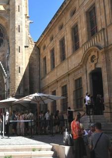 Photo du 11 juillet 2017 12:36, Musée Granet, Place Saint-Jean de Malte, 13100 Aix-en-Provence, Francia