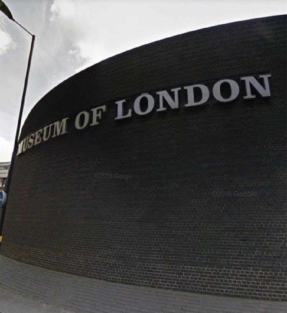 Photo of the December 2, 2016 9:35 AM, Museum of London, 150 London Wall, London EC2Y 5HN, UK