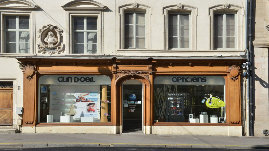 Foto del 4 de noviembre de 2016 16:42, CLIN D'OEIL OPTICIENS Nancy, 46-48 Rue Saint-Dizier, 54000 Nancy, Francia