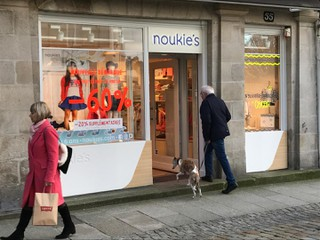 Photo of the February 20, 2018 3:36 PM, Noukie's Store Quimper, 55 Rue Kéréon, 29000 Quimper, France
