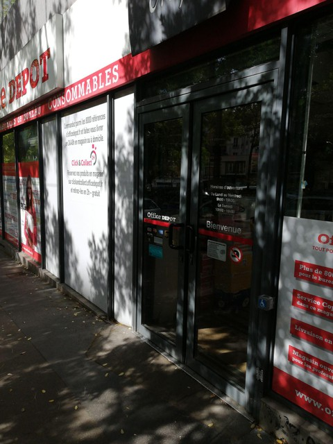 Office Depot Paris Detailed Accessibility Jaccede