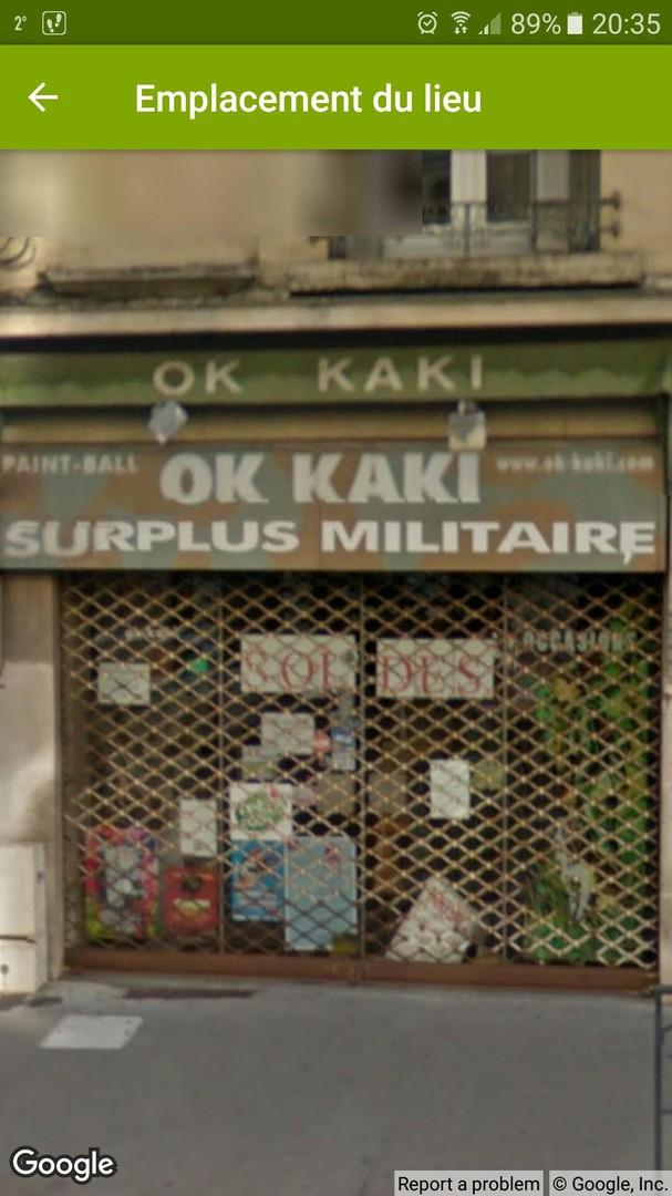 Foto del 16 de noviembre de 2017 19:49, Ok Kaki, 125 Rue Saint-Dizier, 54000 Nancy, Francia