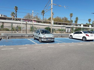 Foto del 21 de septiembre de 2017 9:44, Parking EFFIA Gare d'Antibes, Avenue Robert Soleau, 06600 Antibes, France