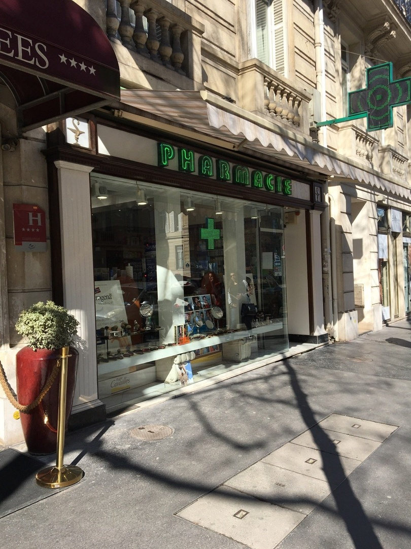 Photo du 16 mars 2017 13:09, Pharmacie Cavanna Madeleine, 6 Avenue Victor Hugo, 75116 Paris, France