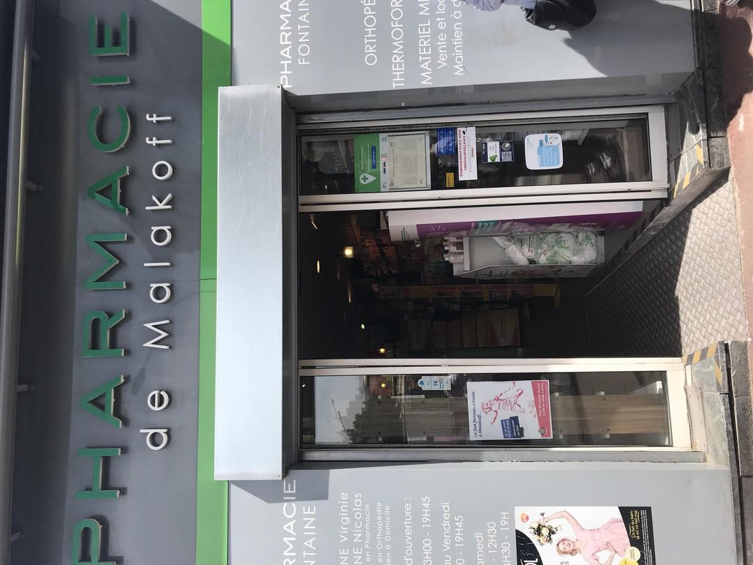 Foto vom 21. Juni 2018 13:20, Pharmacie Fontaine Malakoff, 1 Avenue Augustin Dumont, 92240 Malakoff, France