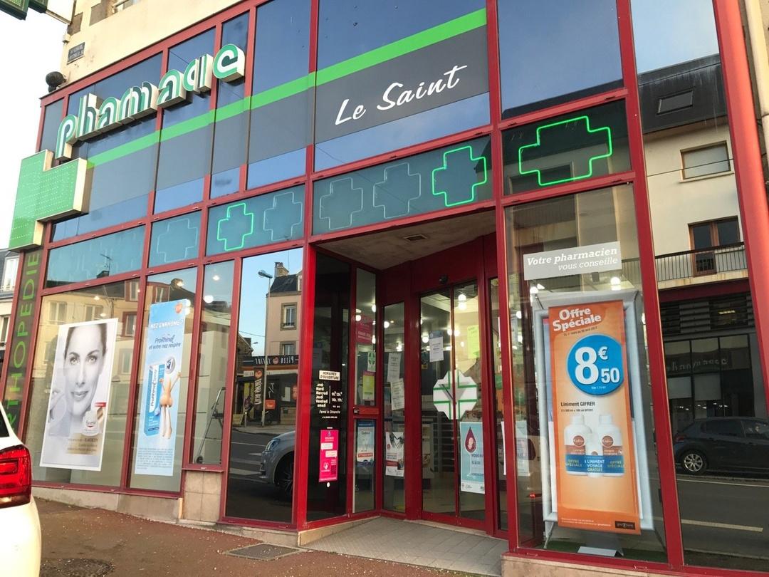 Photo du 15 mars 2017 17:21, Pharmacie Le Saint, 84 Avenue du Maréchal Leclerc, 50400 Granville, Francia