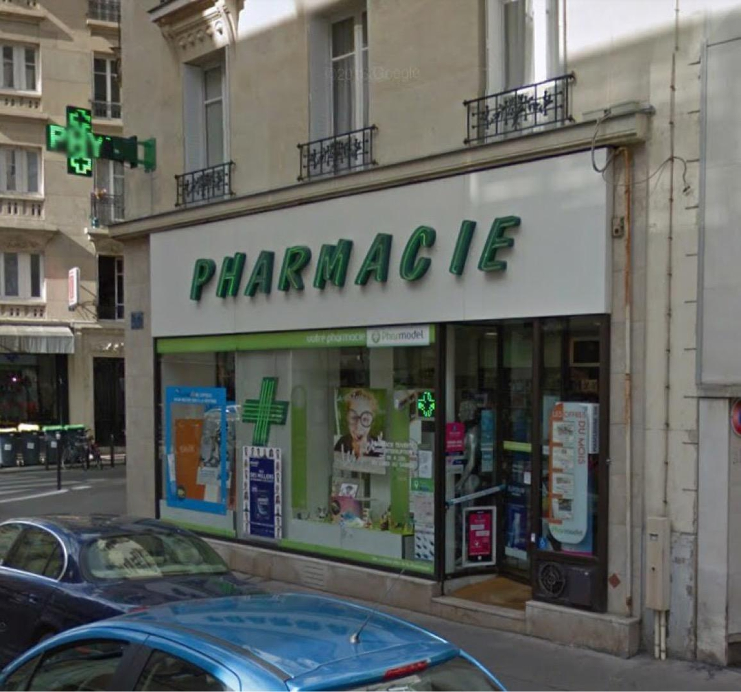 Photo of the May 8, 2017 12:14 PM, Pharmacie Ralitera, 2 Rue de Capri, 75012 Paris, Frankreich