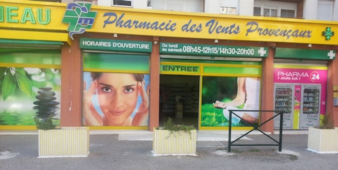 Foto del 5 de febrero de 2016 18:55, Pharmacie des Vents Provençaux // Pharmacie Miramas, 5 Chemin des Écoliers, 13140 Miramas, Francia