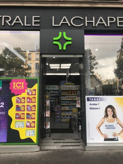 Photo of the October 24, 2017 1:54 PM, Pharmacie centrale La Chapelle, 5 Rue Marx Dormoy, Paris, France