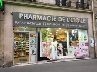 Photo du 20 février 2017 16:24, Pharmacie de l'Etoile, 9 Avenue de la Grande Armée, 75116 Paris, France