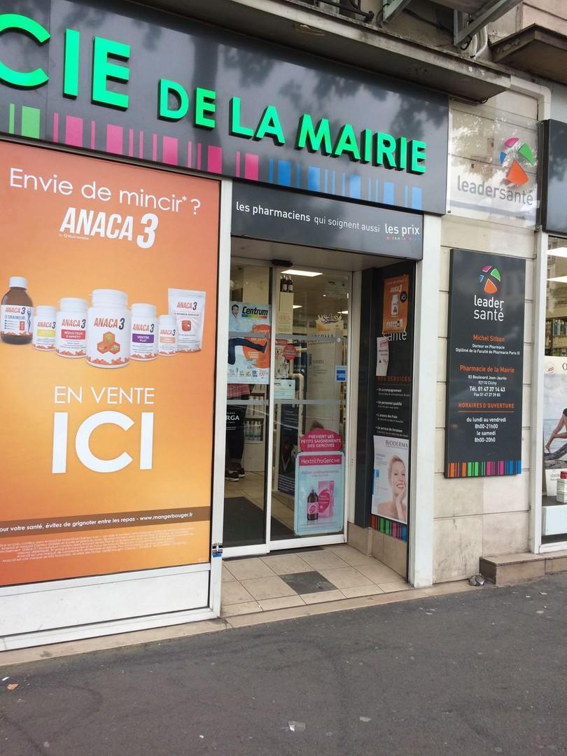 Foto vom 20. März 2018 15:39, Pharmacie de la Mairie, 83 Boulevard Jean Jaurès, 92110 Clichy, Frankreich