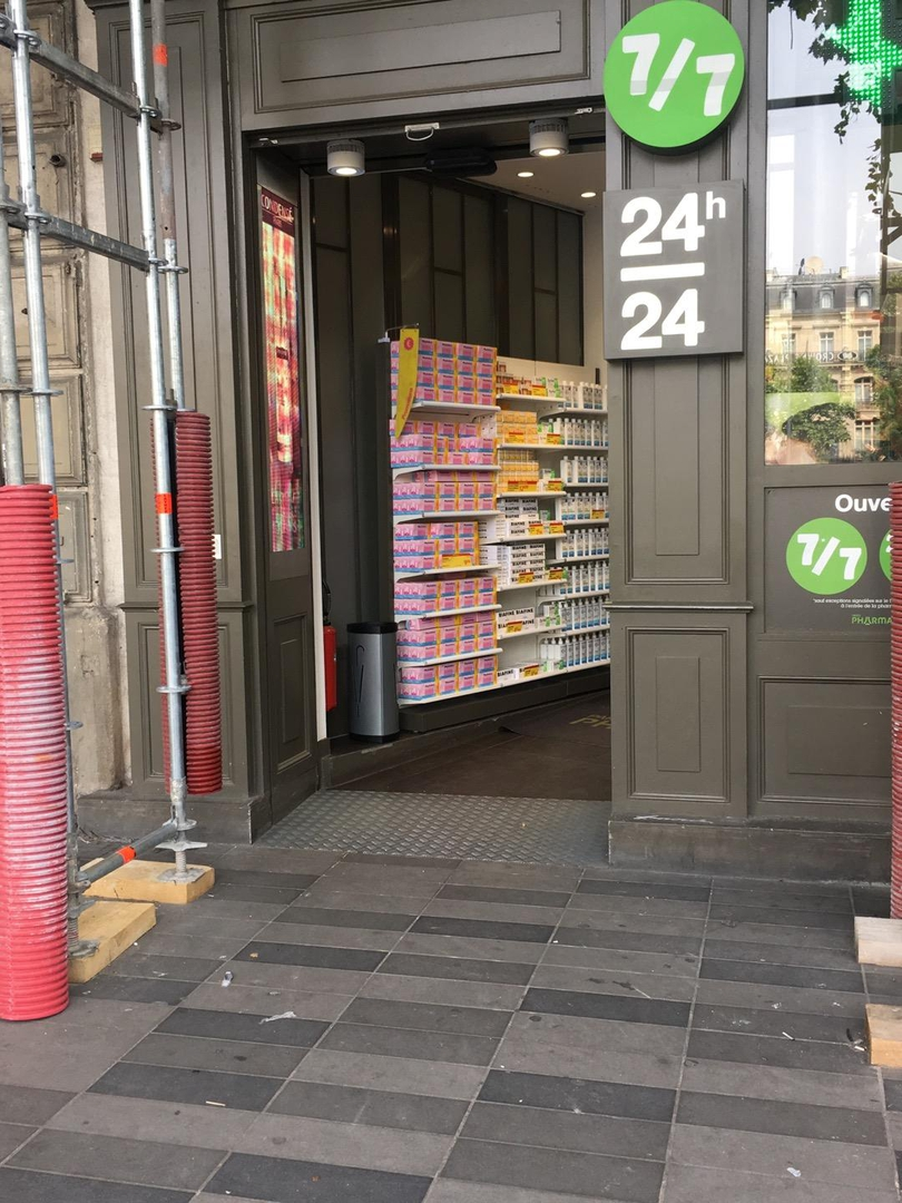 Photo of the June 22, 2017 2:11 PM, Pharmacie de la Place de la République, 5 Place de la République, 75003 Paris, France