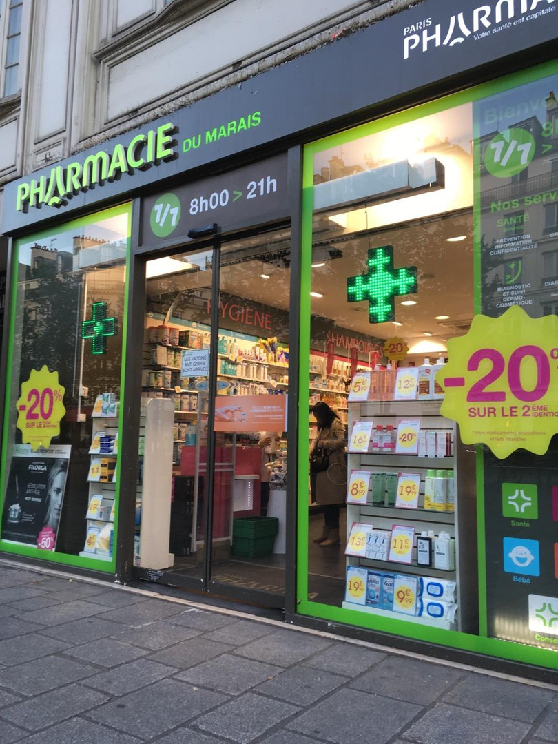 Photo du 16 octobre 2017 16:26, Pharmacie du Marais, 119 Rue Saint-Antoine, 75004 Paris, France