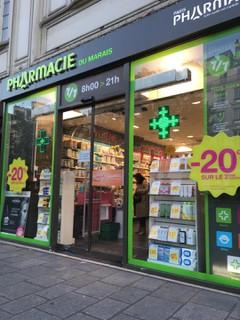 Foto vom 16. Oktober 2017 16:26, Pharmacie du Marais, 119 Rue Saint-Antoine, 75004 Paris, France