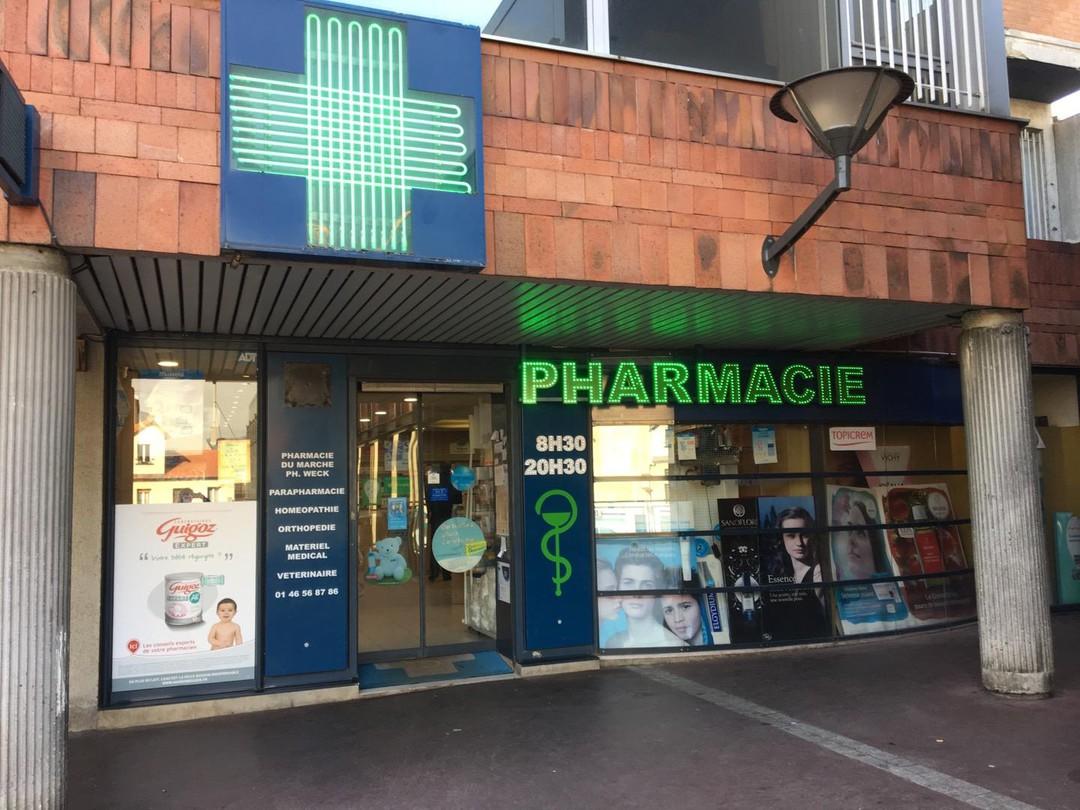 Photo du 31 octobre 2017 11:45, Pharmacie du Marché, 40 Rue Gabriel Péri, 92320 Châtillon, France