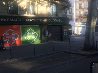 Photo of the June 25, 2018 7:10 AM, Pharmacie du Soleil, 75 Boulevard de Strasbourg, 75010 Paris, Francia