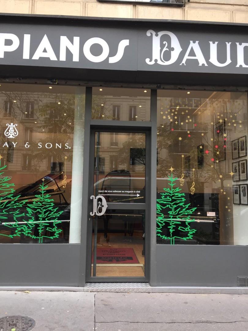 Photo du 16 novembre 2017 12:23, Pianos DAUDE, 75 Bis Avenue de Wagram, 75017 Paris, France