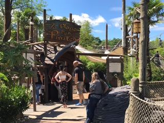 Photo of the June 25, 2017 10:52 AM, La Playa de los Piratas, Parc Disneyland, 77700 Chessy, Francia