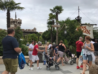 Photo of the August 2, 2017 2:14 PM, Pirates des Caraïbes, Disneyland Paris, Boulevard du Grand Fossé, 77700 Chessy, France
