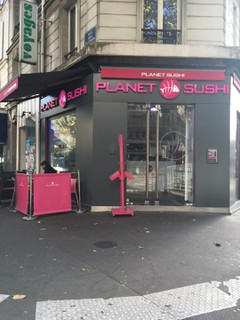 Foto vom 16. Oktober 2017 13:52, Planet Sushi, 243 Rue des Pyrénées, 75020 Paris, France