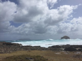 Photo of the February 23, 2018 7:12 PM, Pointe des Châteaux, Pointe des Châteaux, Guadeloupe