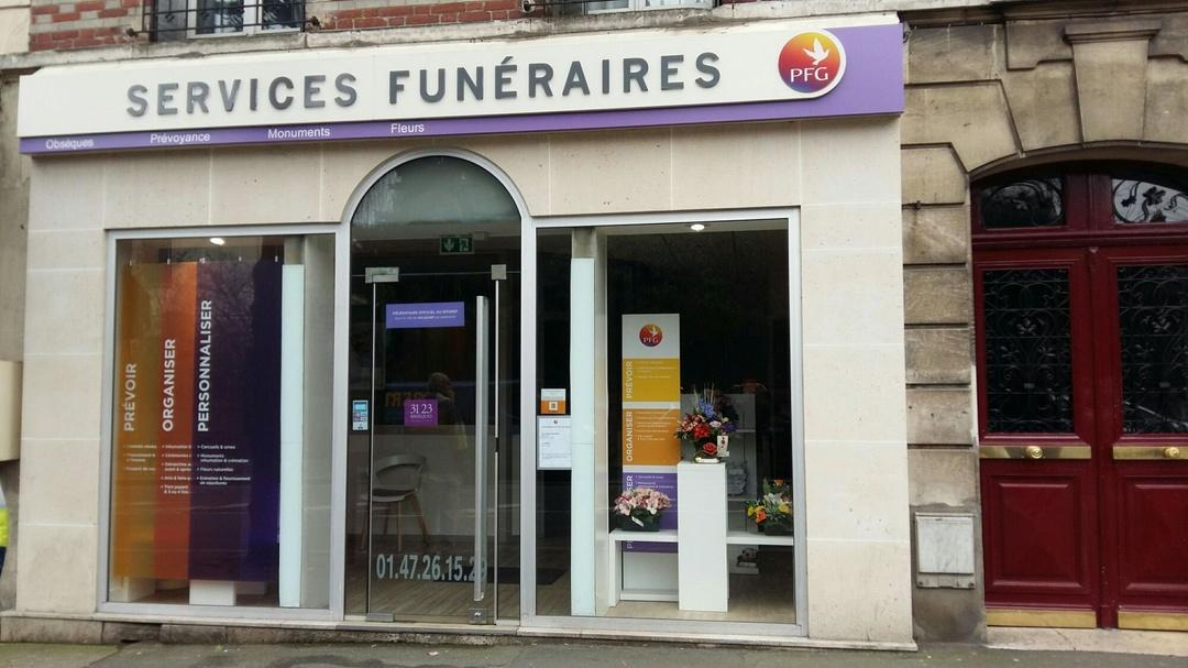 Foto vom 10. März 2017 11:49, Pompes Funèbres Générales (PFG), 31 Avenue Paul Vaillant Couturier, 94800 Villejuif, Frankreich