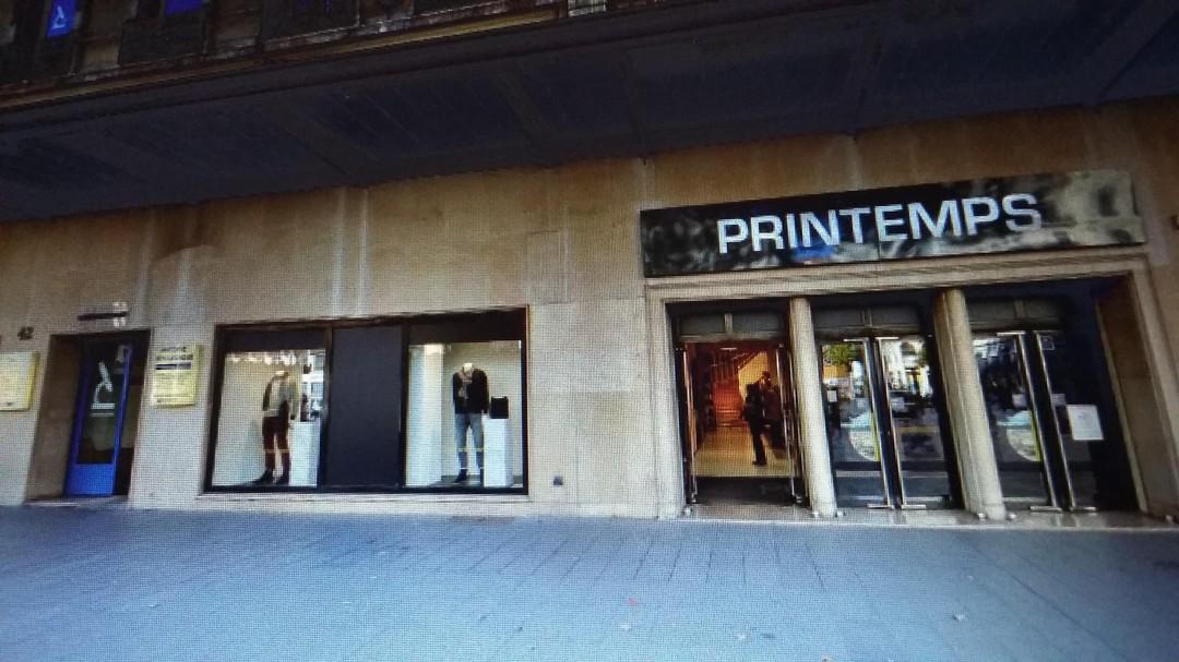 Photo of the November 14, 2017 8:07 PM, Printemps Homme, 42 Rue de la République, 69002 Lyon, France