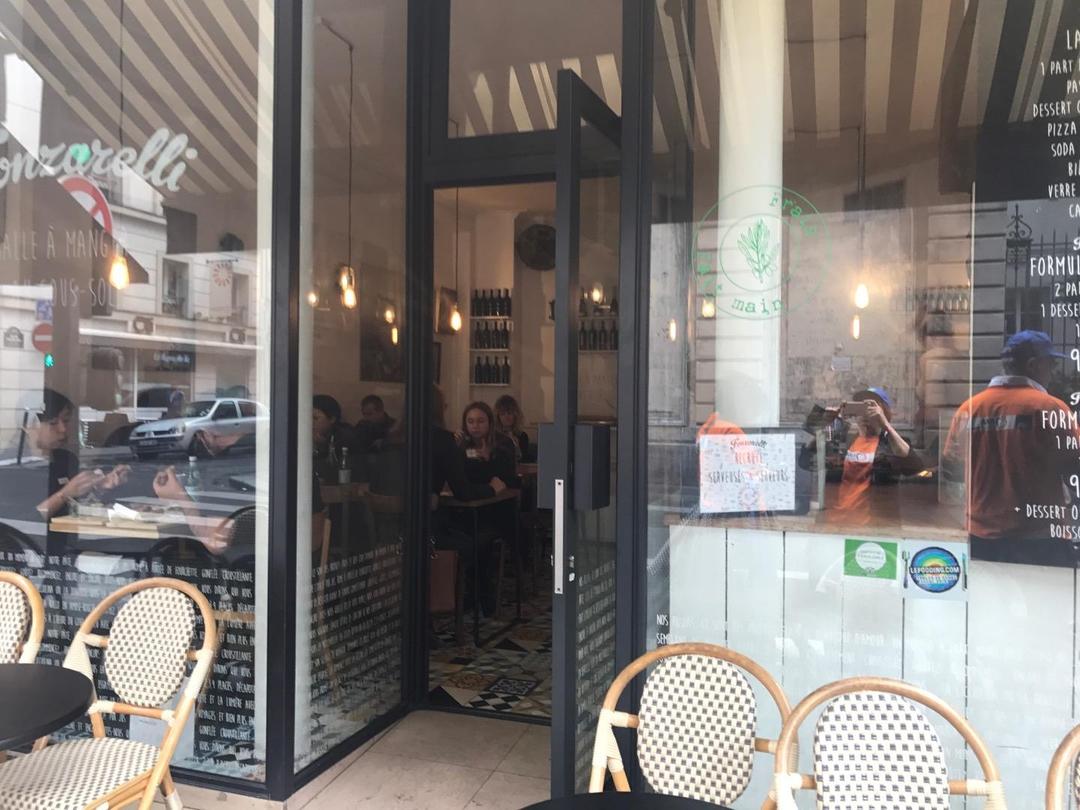 Photo of the June 6, 2017 1:08 PM, Restaurant Fonzarelli, 18 Rue de Mogador, 75009 Paris, France