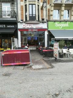 Photo of the October 22, 2017 1:45 PM, Restaurant GUR Kebab, 12 Place de la Gare, 59000 Lille, France