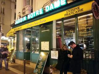 Foto vom 21. November 2017 17:48, Restaurant Jardin Notre-Dame, 2 Rue du Petit Pont, 75005 Paris, France
