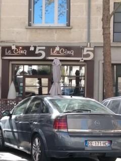 Photo du 20 septembre 2017 10:04, Restaurant Le Cinq, 5 Boulevard des Arceaux, 34070 Montpellier, France