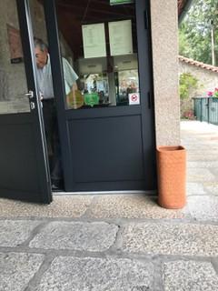 Photo of the July 29, 2018 2:11 PM, Restaurante O Moinho, Largo do Corro 1, 4980-614 Pte. da Barca, Portugal