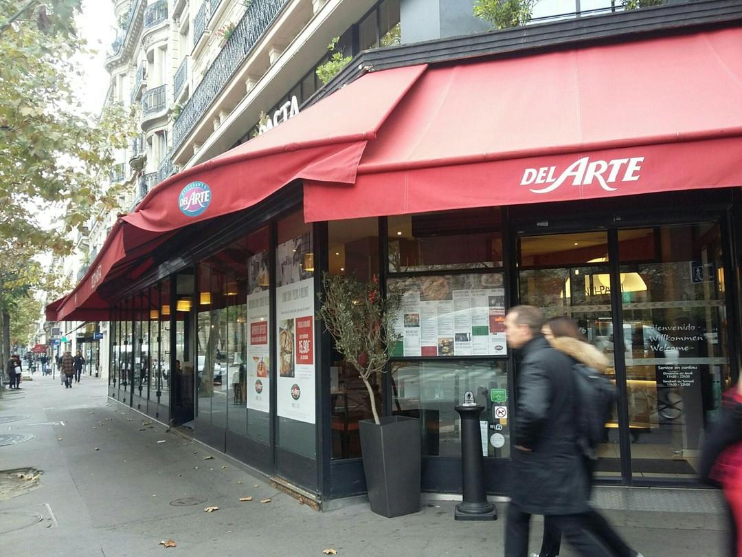 Foto vom 4. November 2017 10:54, Ristorante Del Arte, 20 Boulevard Saint-Michel, 75006 Paris, Frankreich
