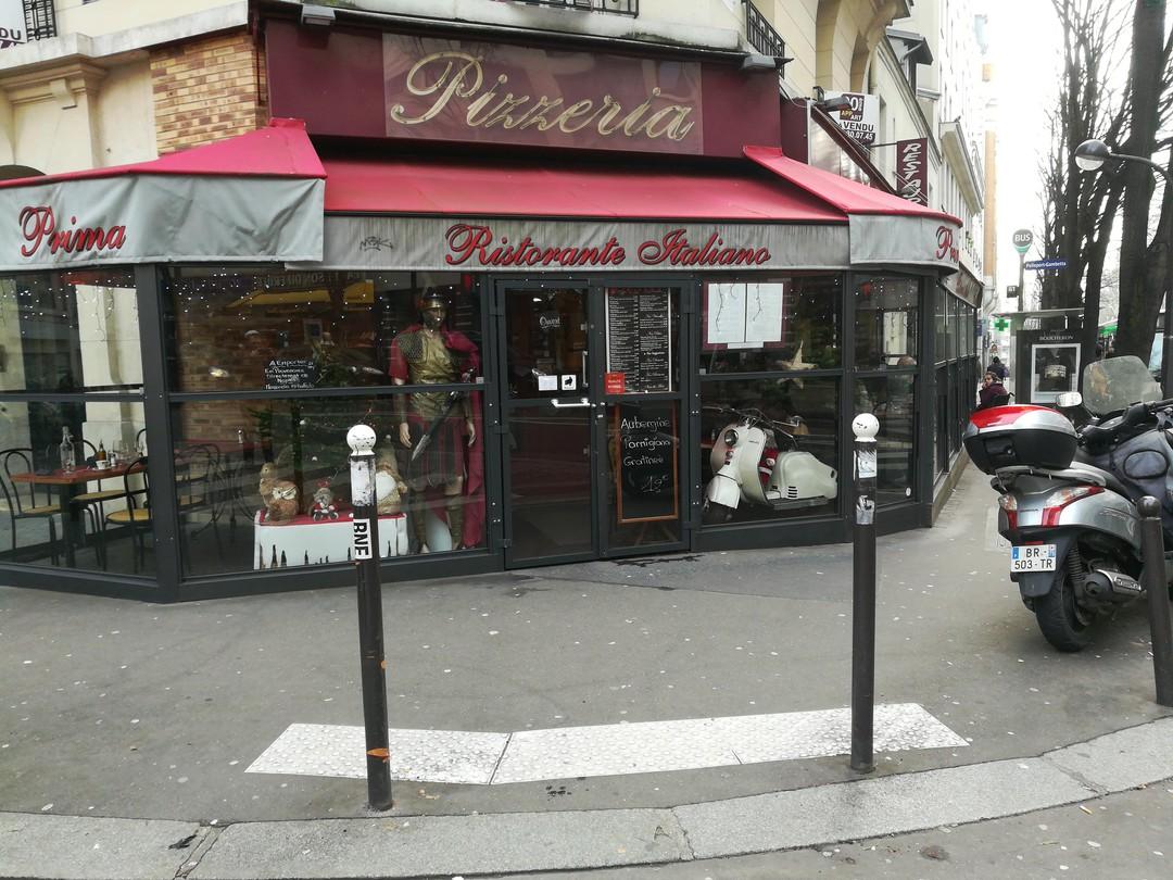 Foto vom 19. Dezember 2017 13:09, Ristorante Prima, 68 Avenue Gambetta, 75020 Paris, Frankreich