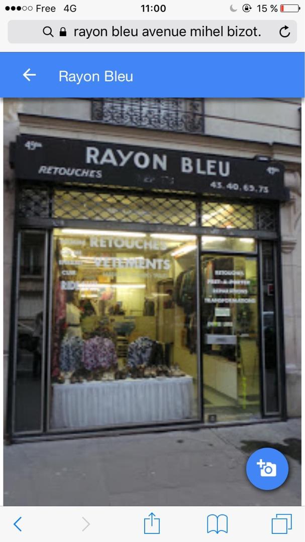 Photo of the May 7, 2017 9:00 AM, Rozon bleu, 49 Avenue du Général Michel Bizot, 75012 Paris, France