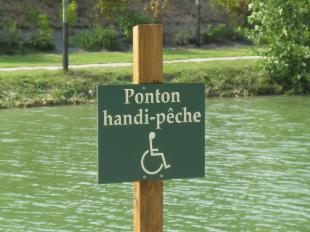 Establishment - Ponton Handi-pêche , Bourg-de-Visa