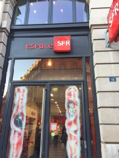 Photo du 29 novembre 2016 14:52, SFR, 108 Rue Saint-Lazare, 75008 Paris, Francia