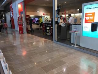 Foto vom 21. Oktober 2017 15:07, SFR, Centre Commercial Auchan Porte D'Espagne, 66000 Perpignan, France