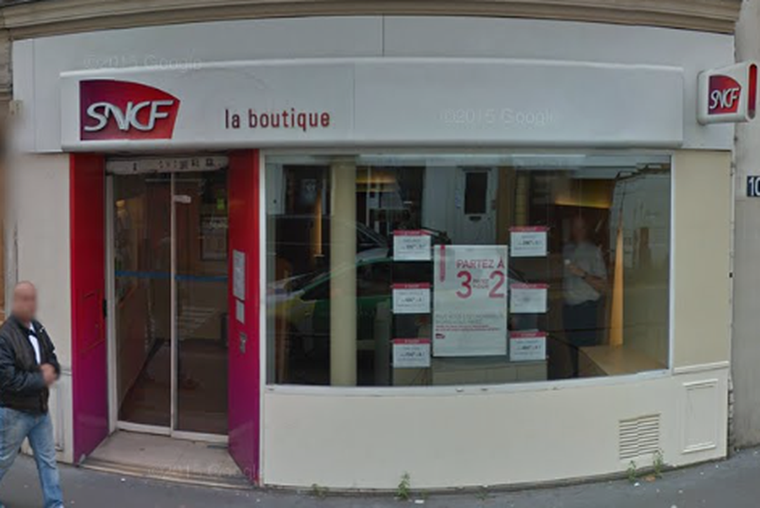 Photo du 5 février 2016 18:57, Boutique SNCF, 110 Rue de Belleville, 75020 Paris, France