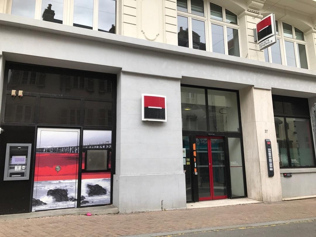 Foto vom 1. März 2017 10:17, Société Générale, 25 Rue Paul Poirier, 50400 Granville, Frankreich