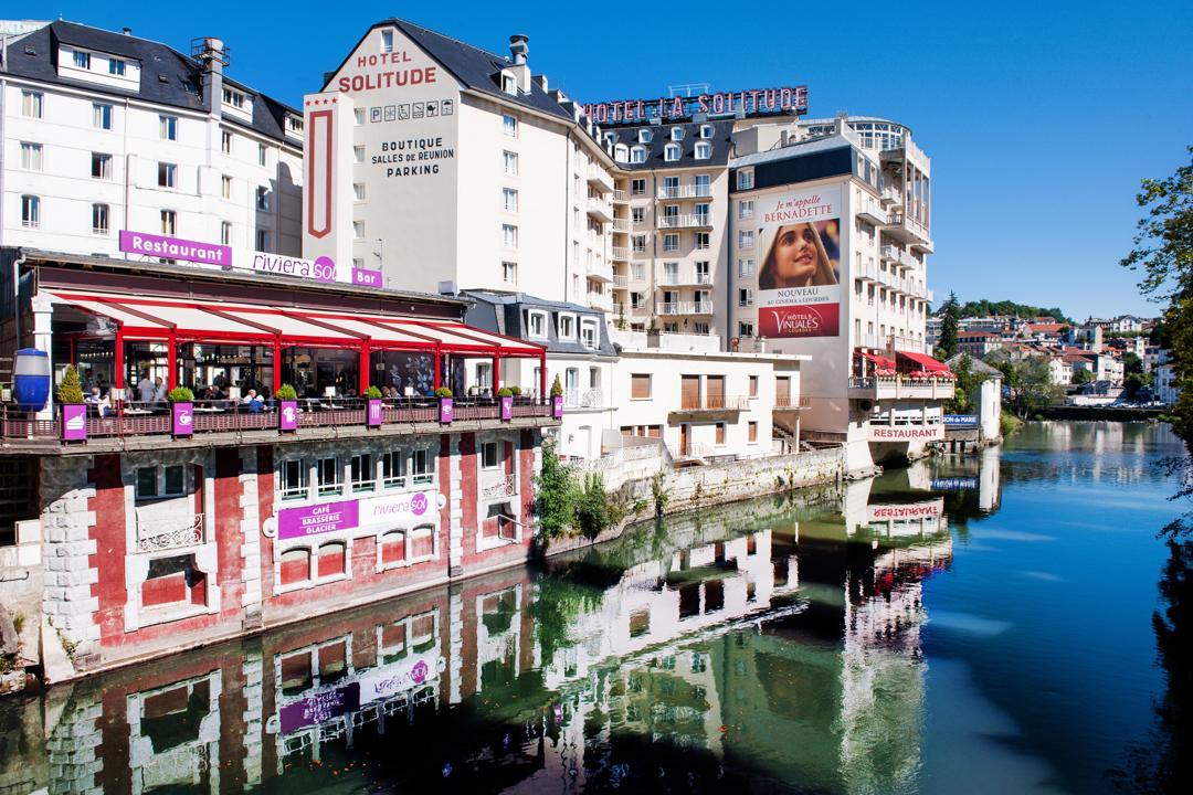 Foto del 5 de febrero de 2016 18:57, Hôtel La Solitude, 3 Passage Saint-Louis, 65100 Lourdes, Francia