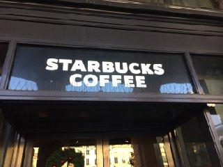 Photo du 29 novembre 2016 14:31, Starbucks, 14 Rue Interieure, 75008 Paris, France