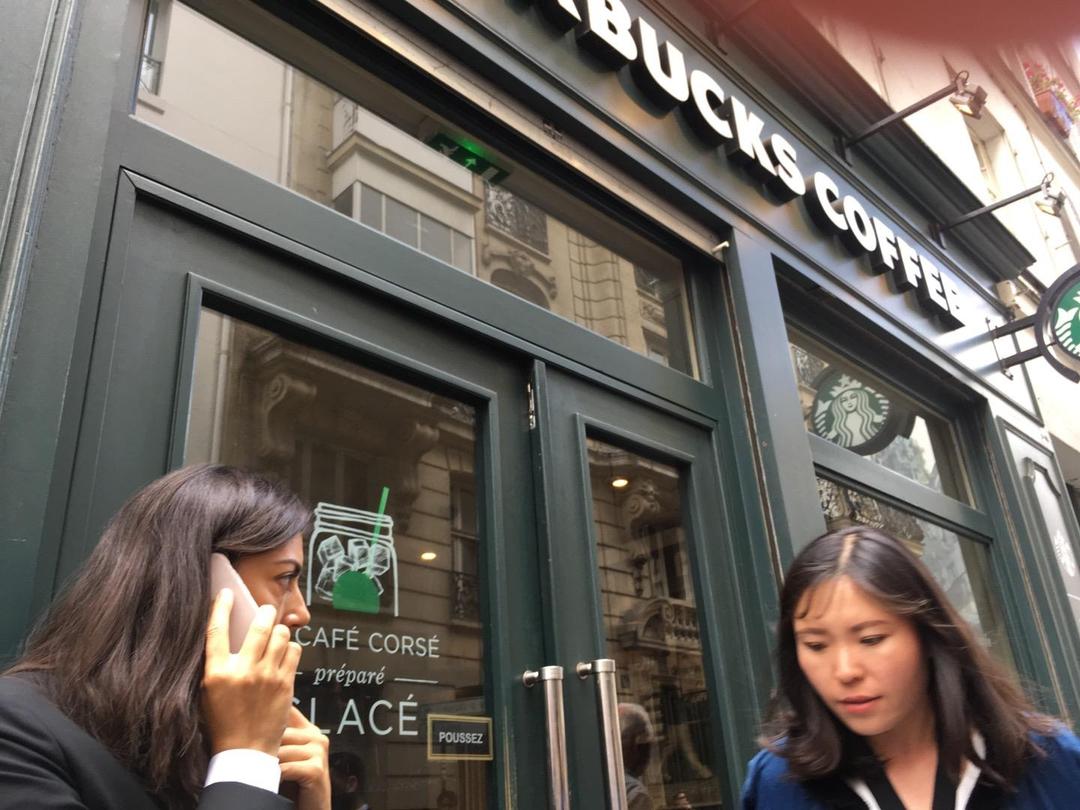 Foto del 6 de junio de 2017 13:23, Starbucks, 81 Rue de Provence, 75009 Paris, Francia