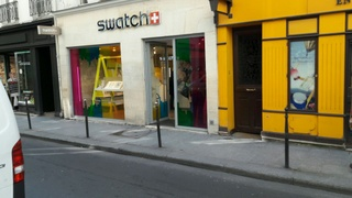 Photo of the March 25, 2017 10:30 AM, Swatch Store, 17 Rue des Francs Bourgeois, 75004 Paris, France
